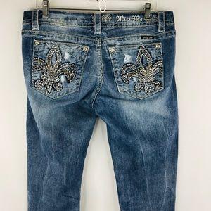 Miss Me Jeans - Miss Me denim straight jeans SZ:32